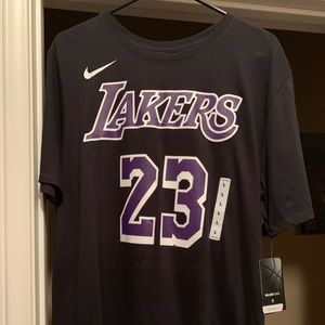 Nike Lebron James Lakers Shirt